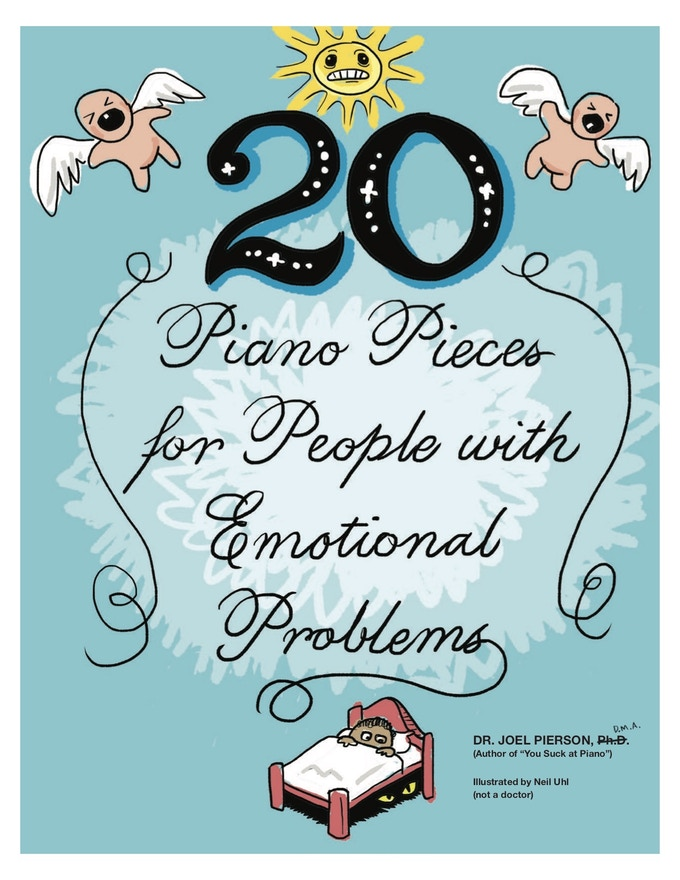 20 Piano Pieces for People with Emotional Problems