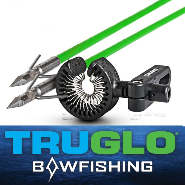 Truglo SpringShot Bow Fishing Arrows and Rest Black - ADD $51