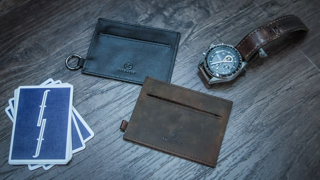 The Ideal Slim Minimalist Wallet: Ed Charly