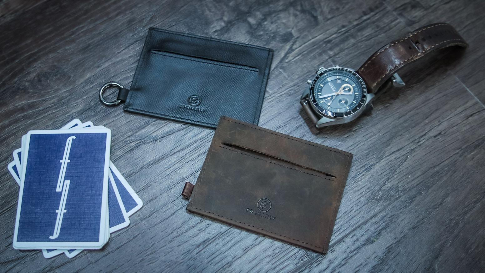 The Ideal Slim Minimalist Wallet By Ed Charly Kickstarter
