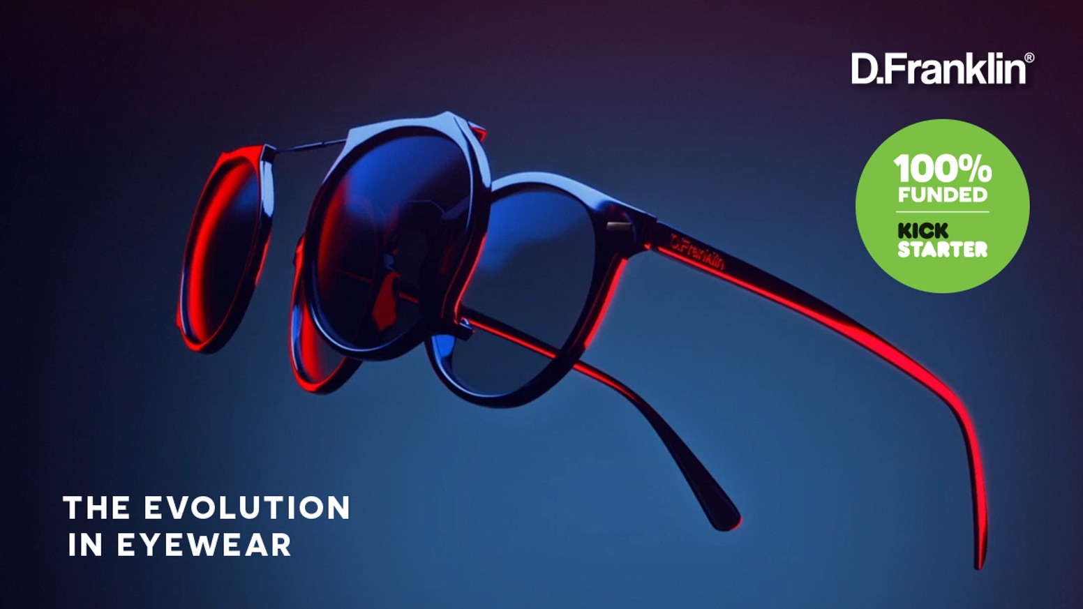 D Franklin - Clip-On V2: The Ultimate 2-in-1 Daily Eyewear