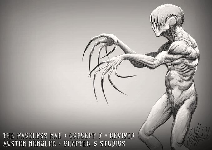 The Faceless Man - Concept 07 (Revised)