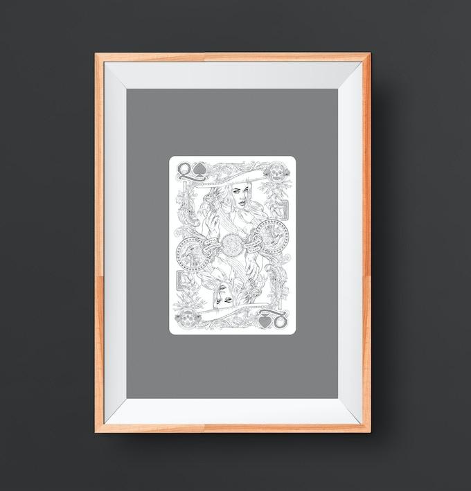 Pencil Art Print
