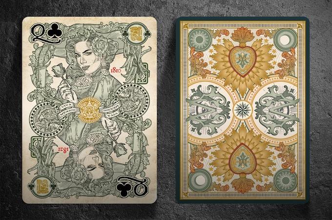 Revolucion Edition El Recuerdo Cards Front and Back