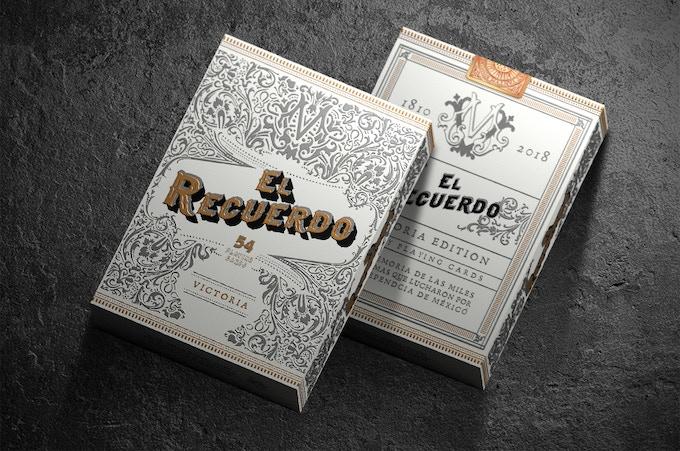 Victoria Edition El Recuerdo Cards Box