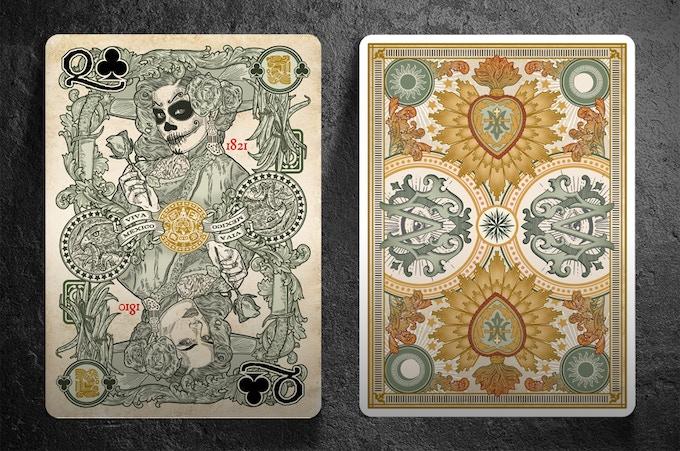Victoria Edition El Recuerdo Cards Front and Back