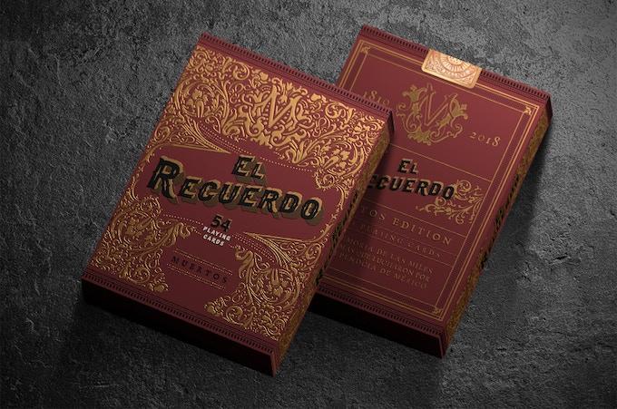 Muertos Edition El Recuerdo Cards Box