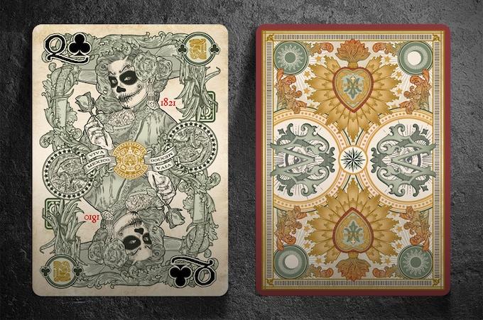 Muertos Edition El Recuerdo Cards Front and Back