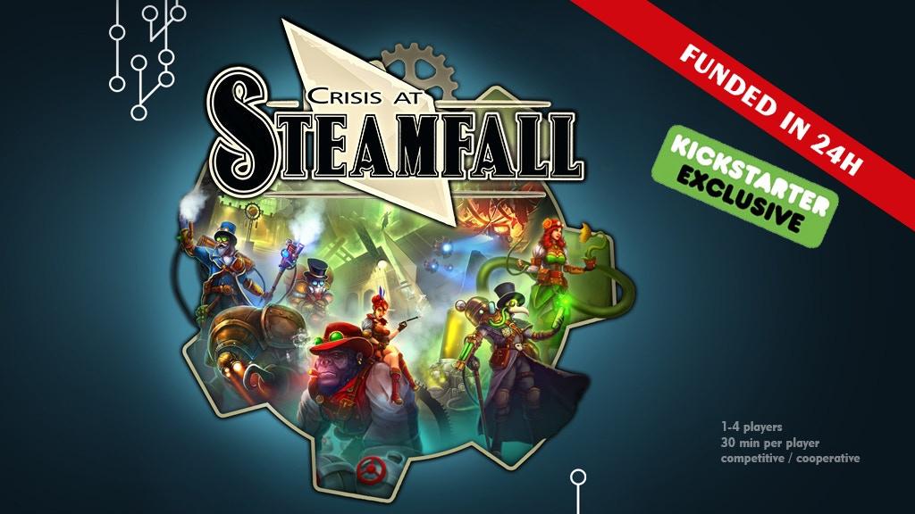 Crisis at Steamfall project video thumbnail