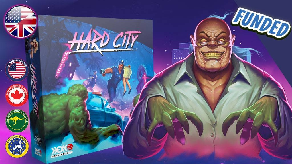 Hard City Board Game (Canceled)