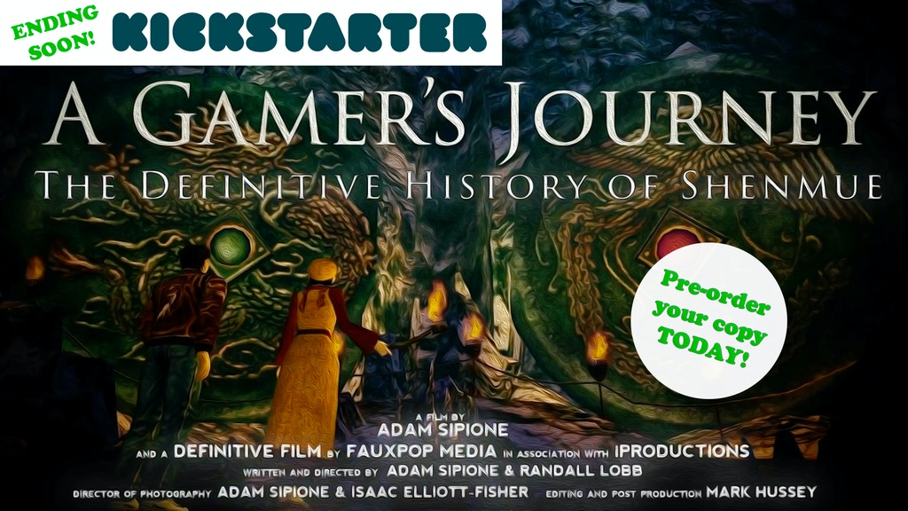 A Gamer's Journey: The Definitive History of Shenmue project video thumbnail