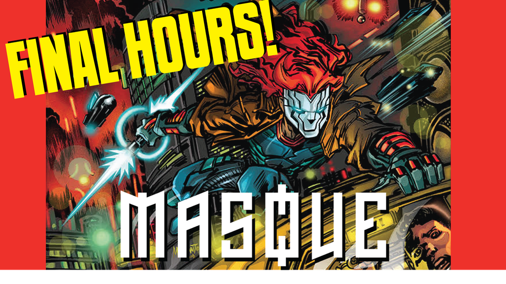 Masque comic book #1 project video thumbnail