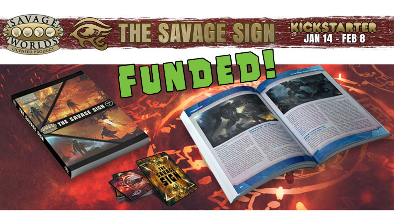 A licensed Savage Worlds publication containing new Comics, Creature Features, Fiction, Savage Tales, Savage Settings, Maps, and more!