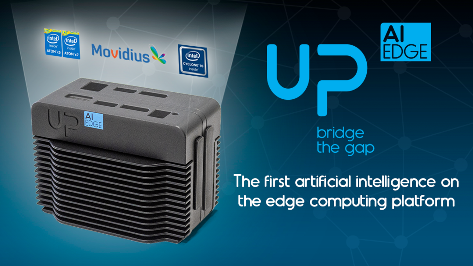 UP AI Edge – Artificial Intelligence On The Edge by UP