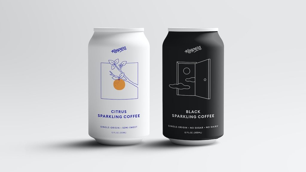 Launching Keepers Black : The Original Sparkling Coffee! project video thumbnail