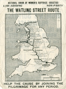 The route! Can you spot your nearest Town?