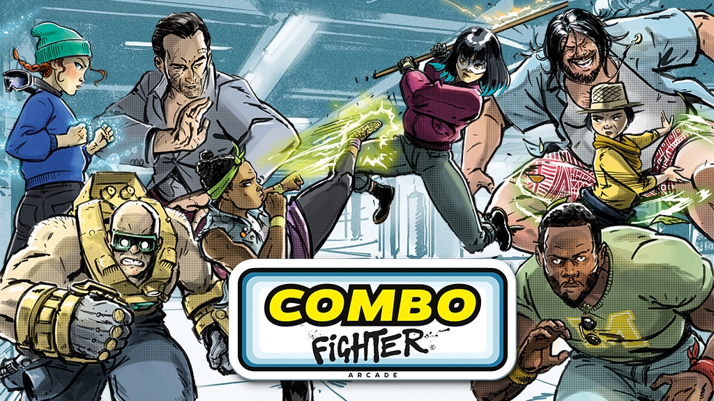 Combo Fighter project video thumbnail