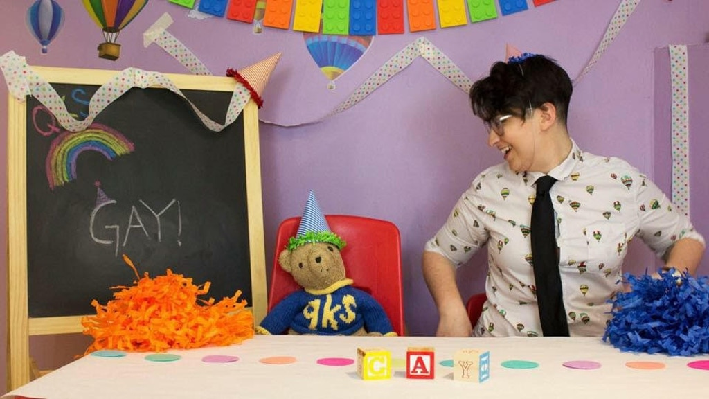 QUEER KID STUFF teaching preschoolers their LGBTQ's project video thumbnail