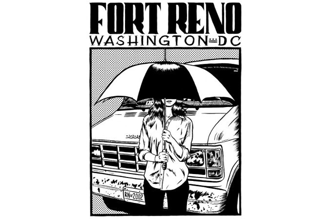 "Vintage Fort Reno ""Van"" design by Ryan Nelson"