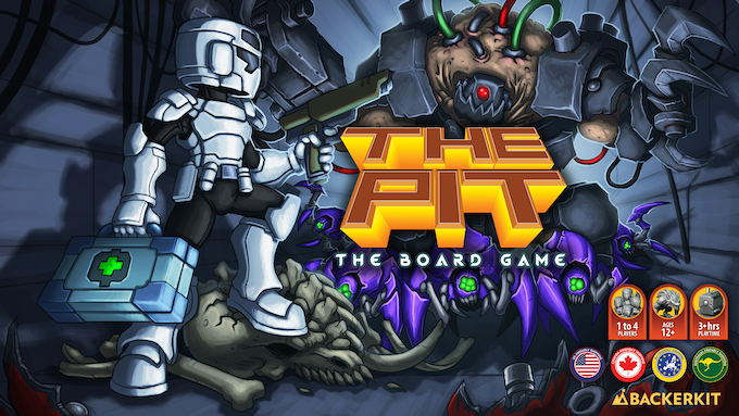 The Pit: The Board Game! by Kerberos Productions — Kickstarter