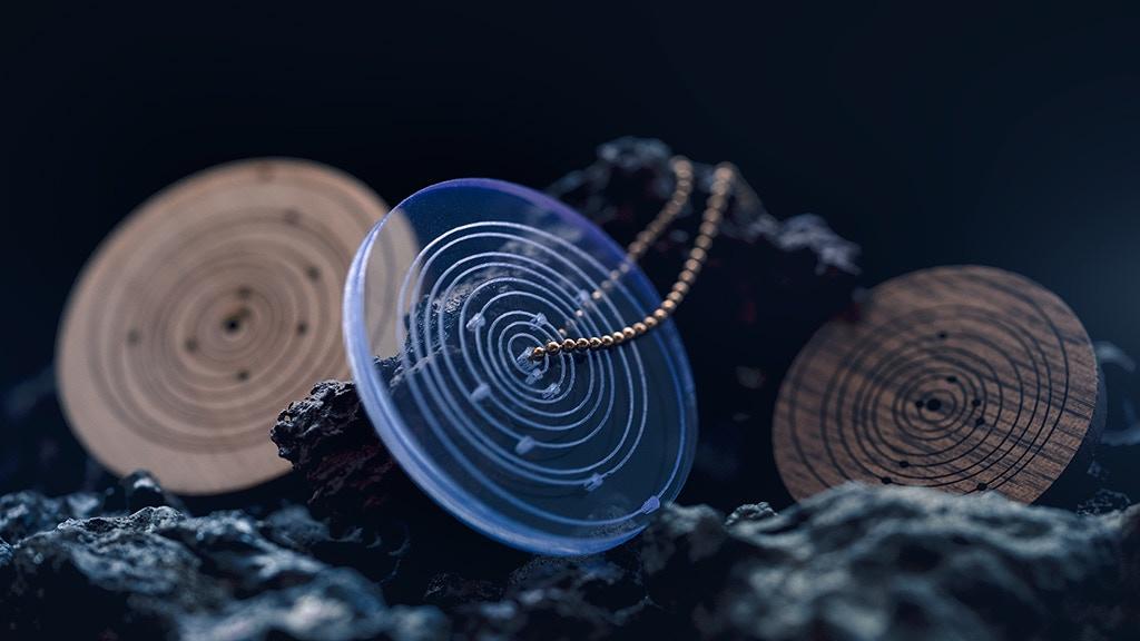SpaceTime Coordinates Memento - Acrylic & Wood project video thumbnail