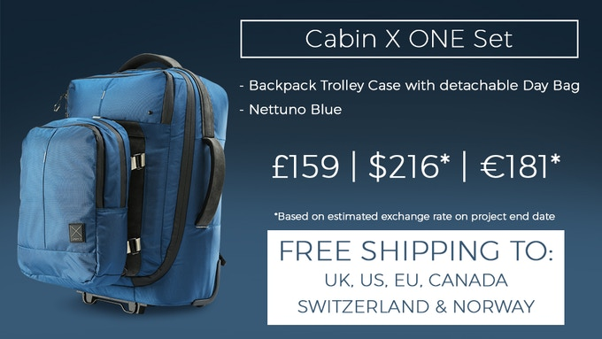 68f407a9cfb11 Cabin X ONE - Hybrid Carry-On Trolley Backpack and Day Bag by Cabin ...