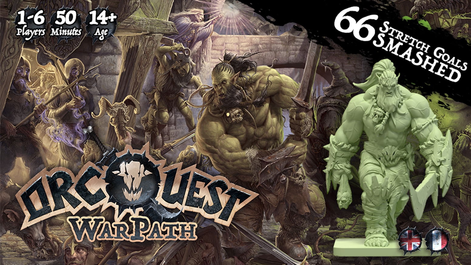 OrcQuest WarPath - The Boardgame