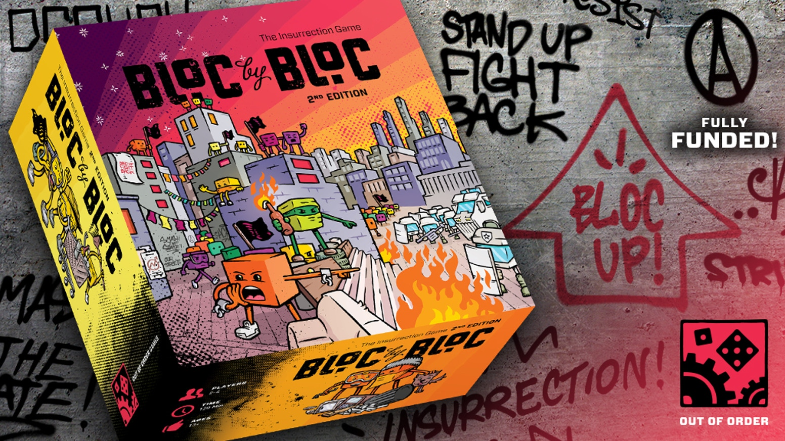 Bloc by Bloc 2nd edition by Out of Order Games — Kickstarter