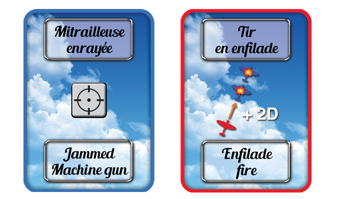 Examples of Action cards