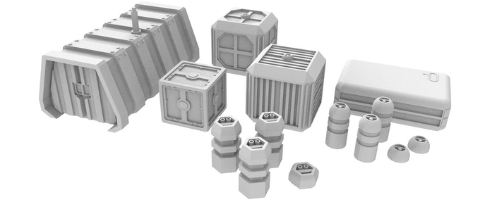 Military Crates and Equipment I