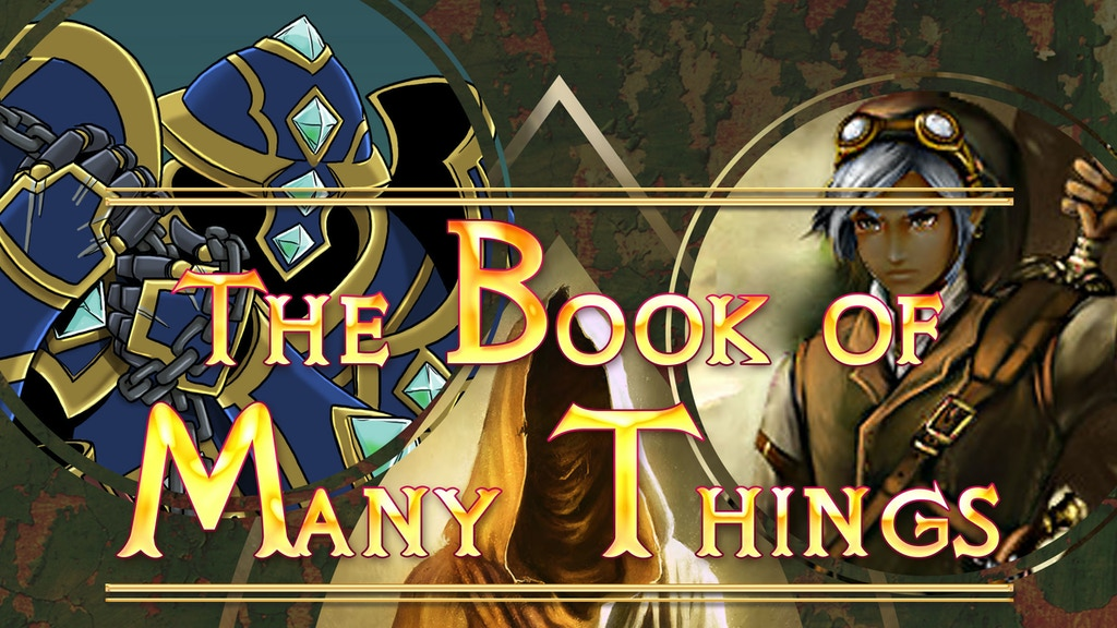 The Book of Many Things - Print Edition project video thumbnail