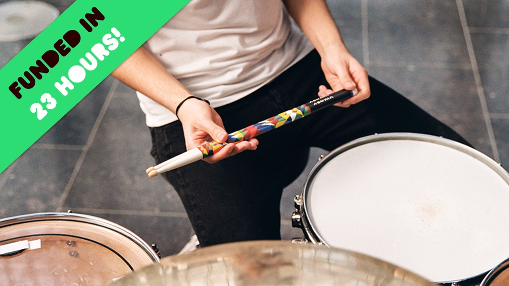 Vikory: The First Drumsticks Combining Quality With Style