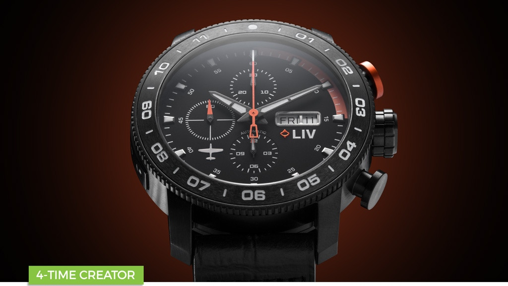 Titanium & Ceramic & Automatic, 4 BOLD Watches by LIV Swiss project video thumbnail