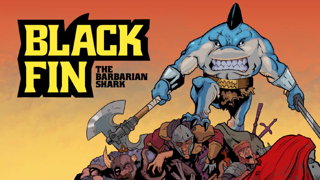 Black Fin: Barbarian Shark project video thumbnail