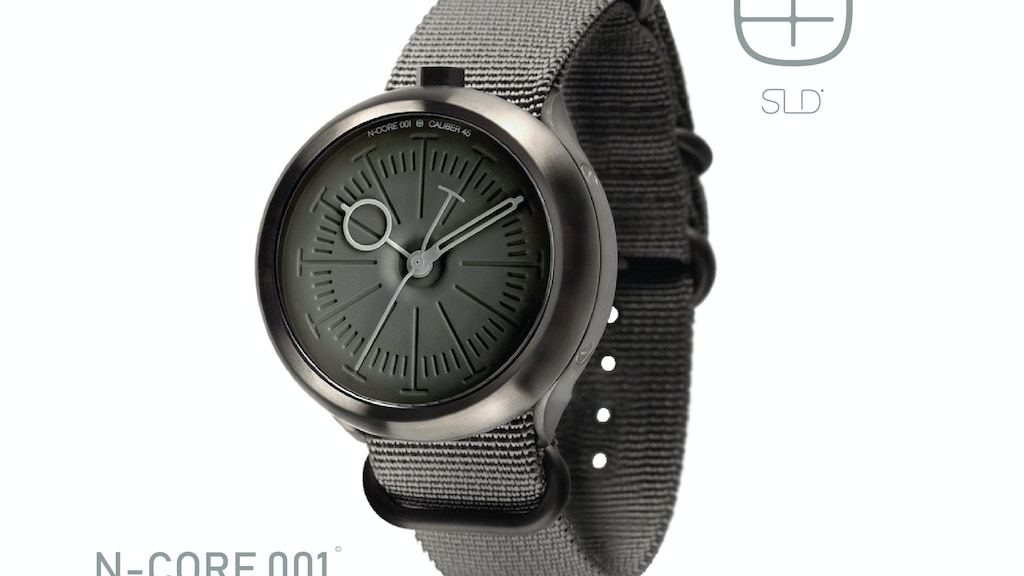 N-CORE 001 watch by SLD project video thumbnail