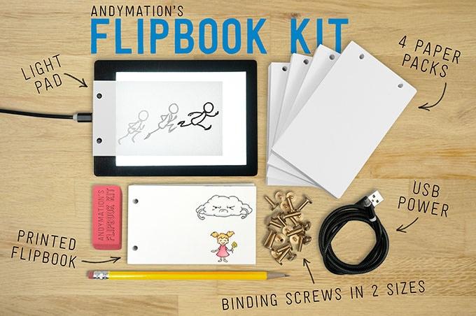 Andymation's Flipbook Kit by Andy Bailey — Kickstarter