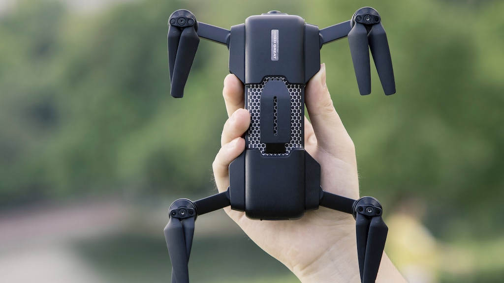 Mark Drone: The Ultra-intelligent 4K foldable drone, $239 project video thumbnail