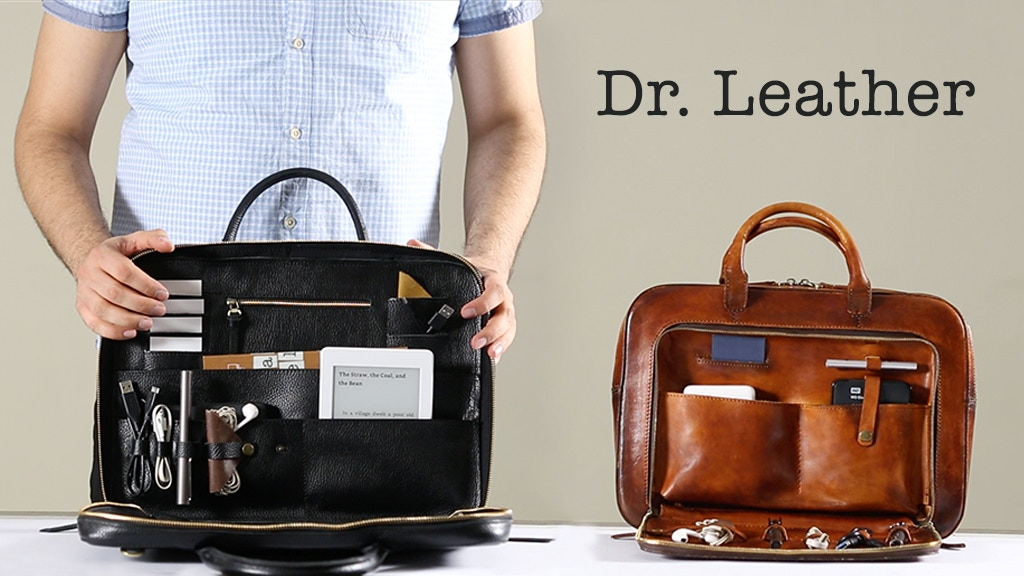 Redefining Gadget Bags with Luxury & Minimal Design