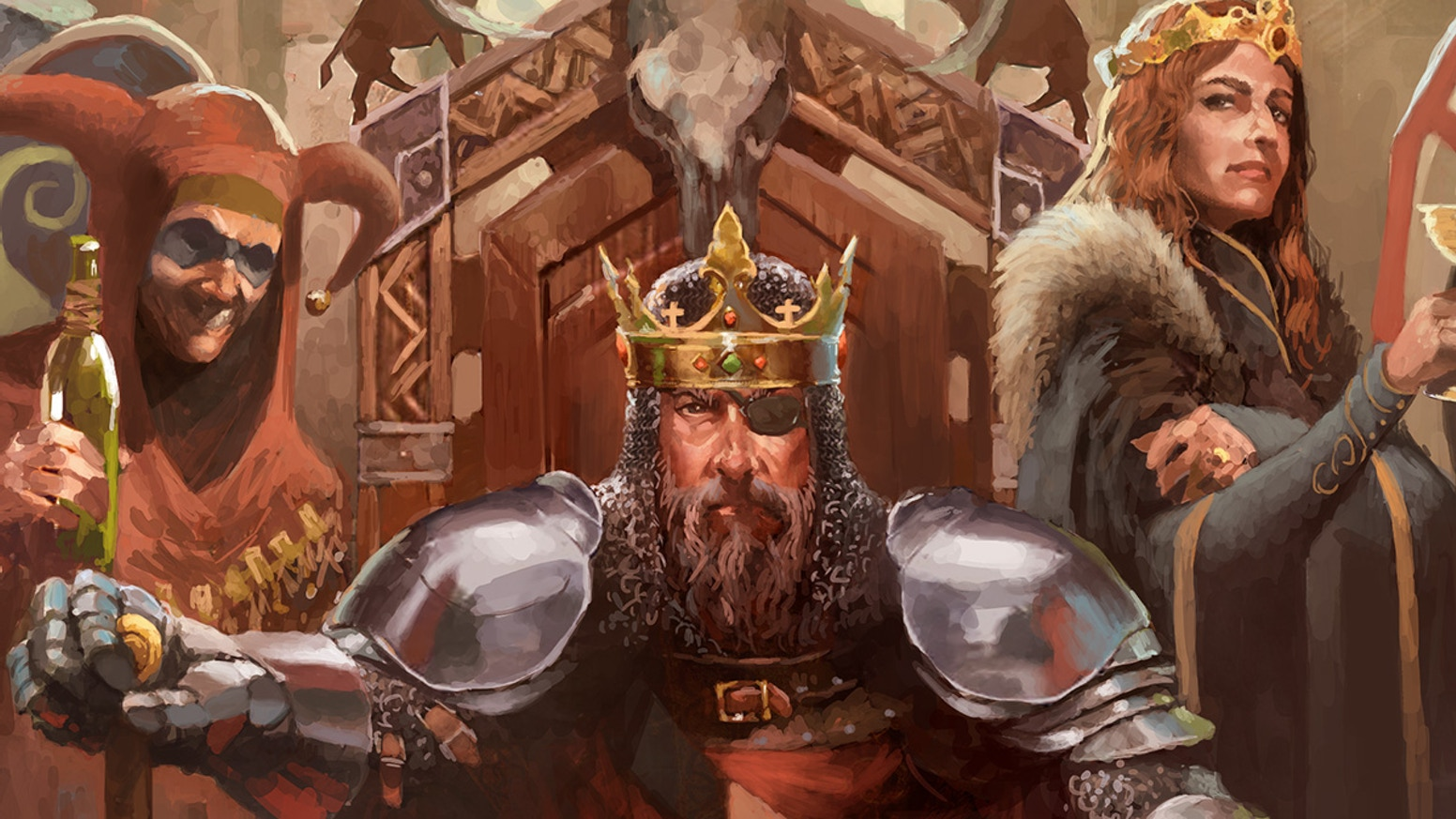 A grand strategy board game of rival kings and dynasties in medieval Europe, based on the acclaimed computer game Crusader Kings.