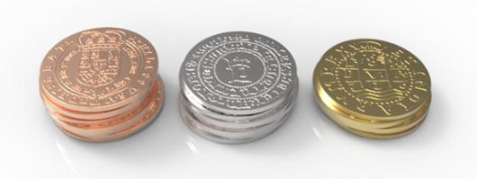 Historical metal coins by giochistarter — Kickstarter