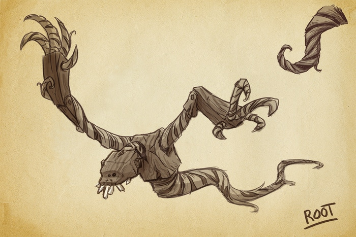 Root Concept Sketch