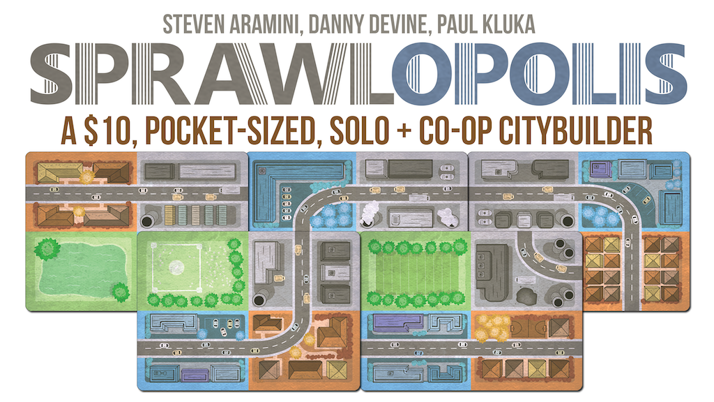 Sprawlopolis - A Solo & Cooperative City Building Game project video thumbnail