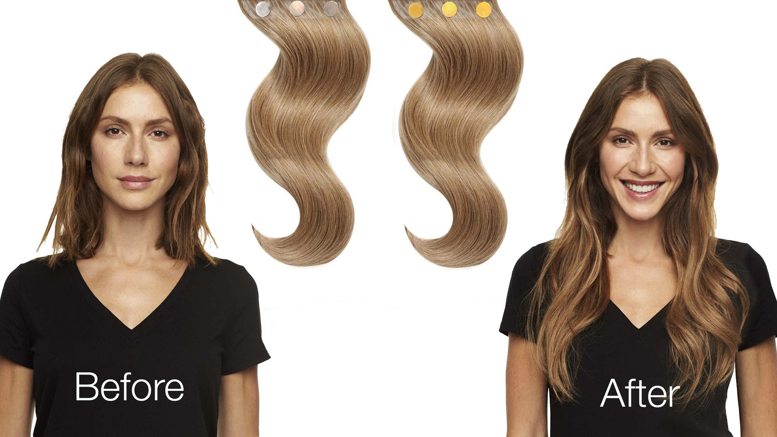 Magnet Hair No Stress Extensions By Lux Beauty Club Kickstarter
