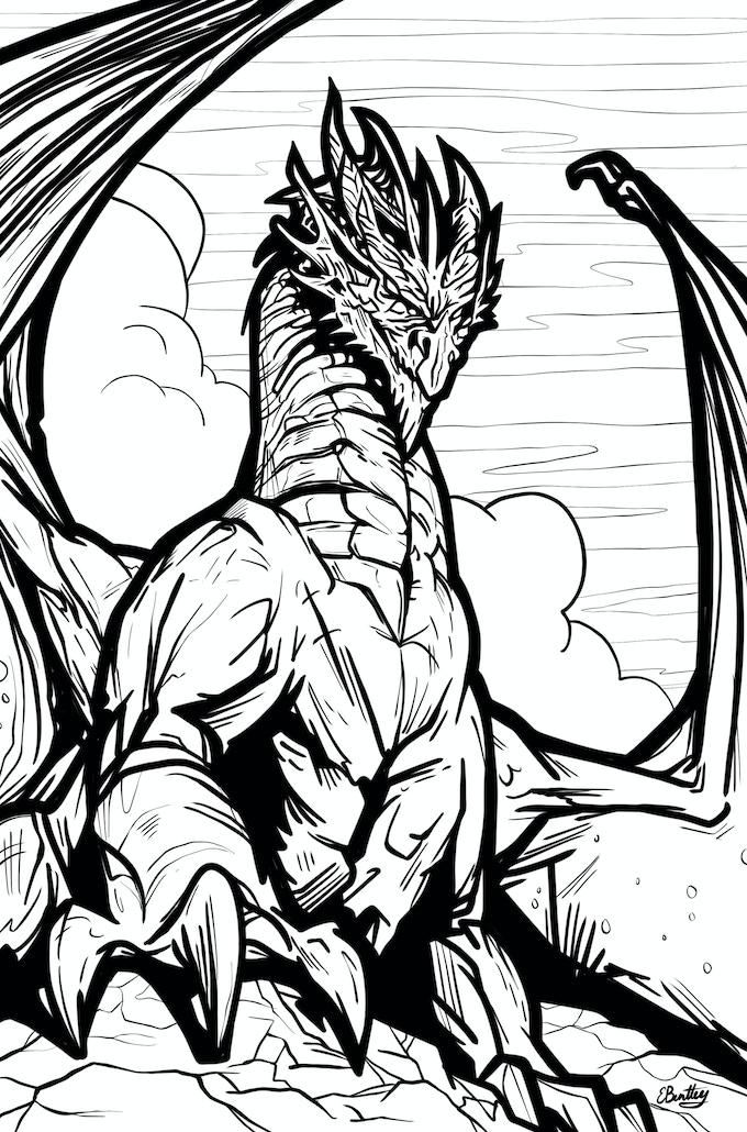 Dragon by Edward Bentley