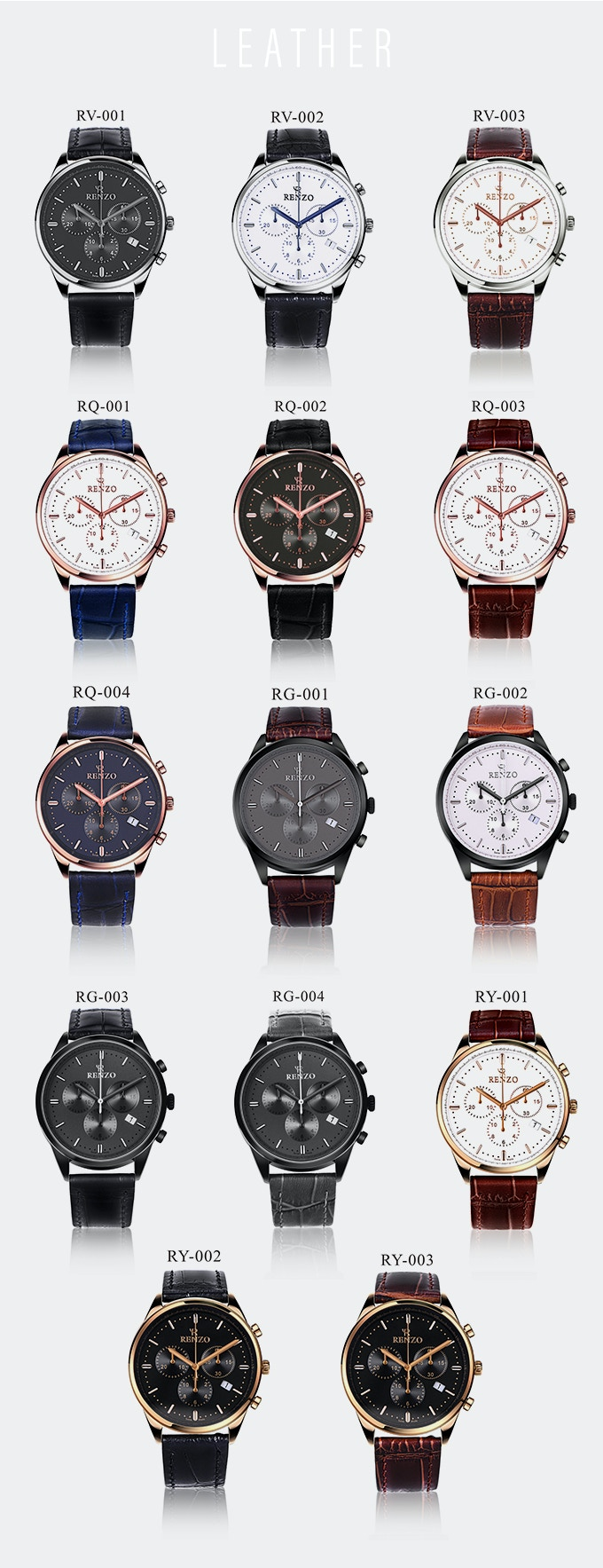 Renzo | Swiss-Made Chronograph Watches for True Aficionados by Renzo