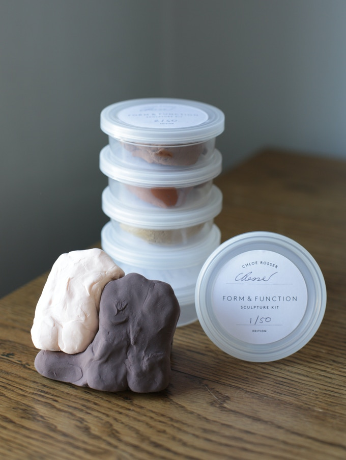 Reward: Skin coloured Sculptural Kit. Create your own forms.