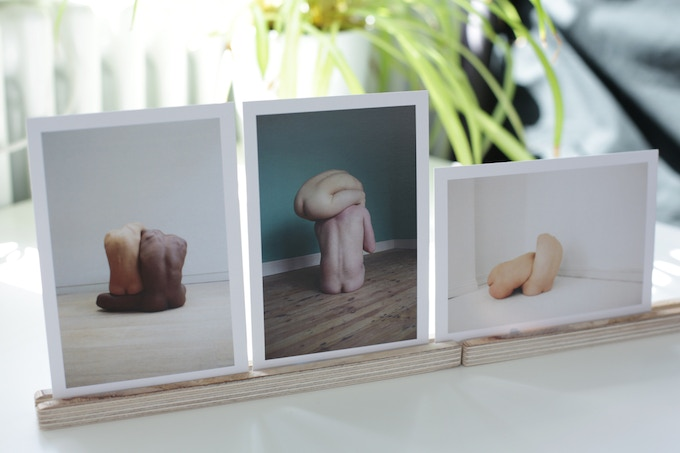 Reward: 3 of the postcards available, 4th postcard is a surprise image.