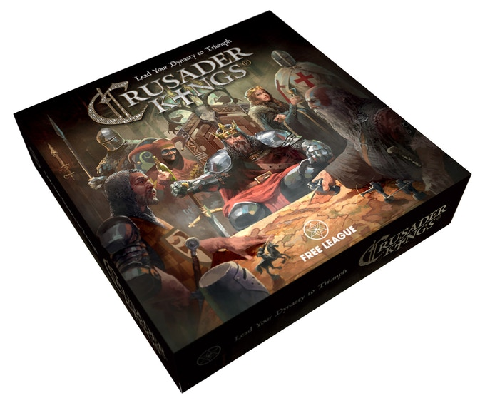 Crusader Kings The Board Game - Lead Your Dynasty to Triumph by Fria