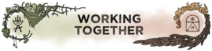 [Header: Working Together]