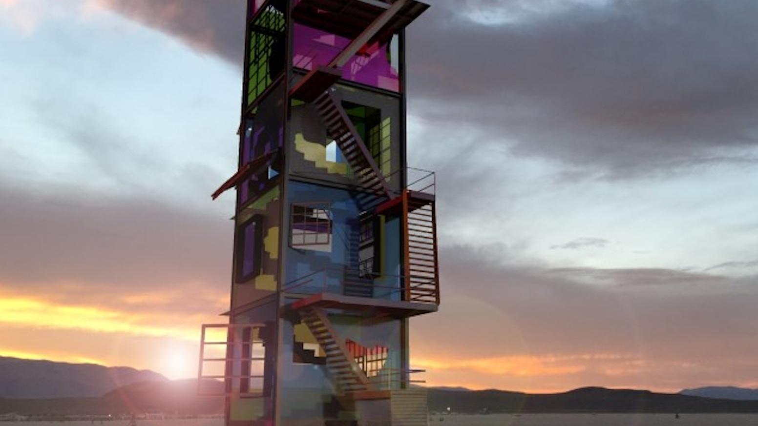 Kaleidoscope - Burning Man 2018